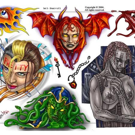 Flash Art Sheet